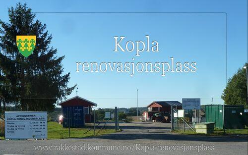 Kopla renovasjonsplass Rakkestad kommune