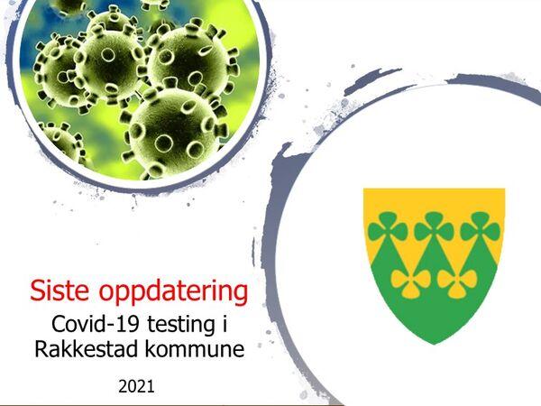 Oppdatering testresultater i 2021 for Rakkestad kommune