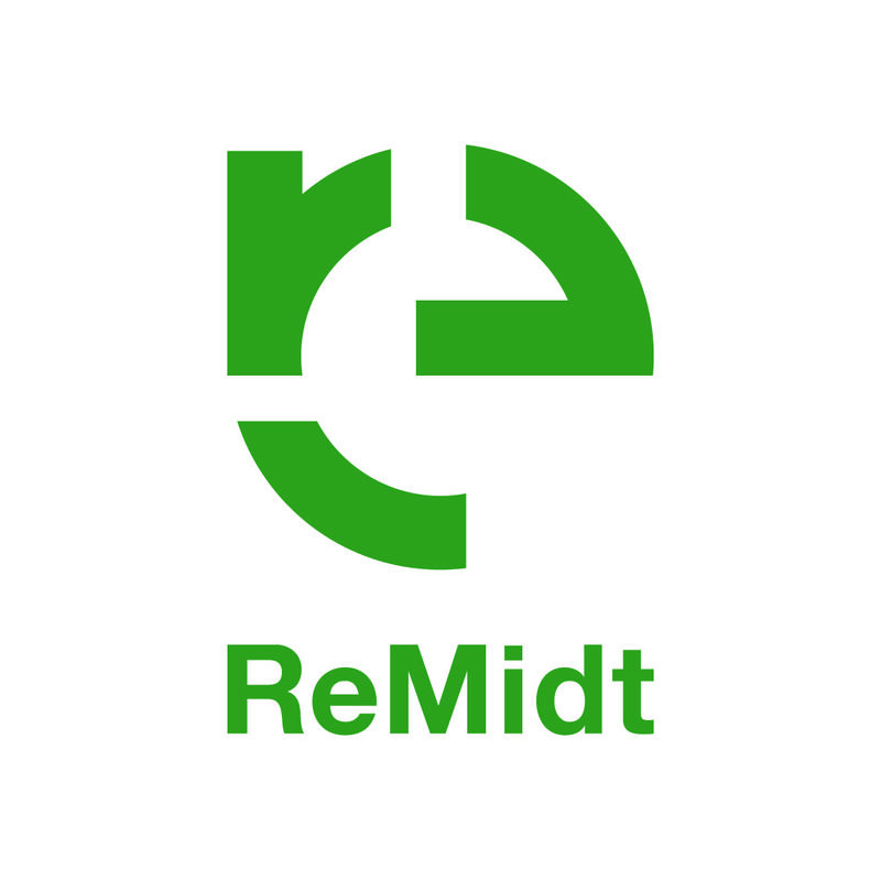 Logoen til Remidt i grønn