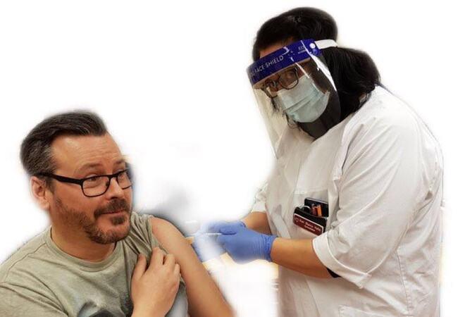 Vaksine på første ansatte i Porsanger kommune