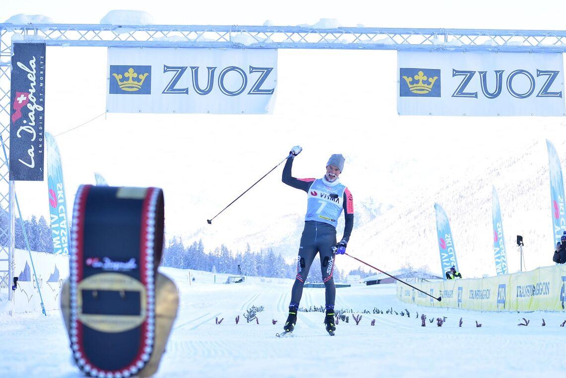 Oskar Kardin kunne paradere over mål etter glimrende lagsamarbeid av Team Ragde Eiendom. (Foto Björn Reichert/Nordic focus)