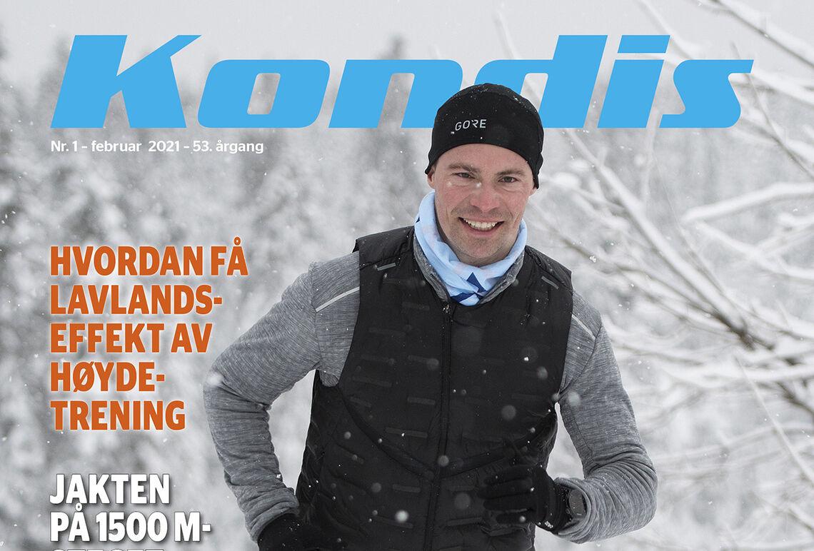 Endre Olav Osnes er fotballkommentator, prest og løper i fin framgang. (Foto: Bjørn Johannessen)