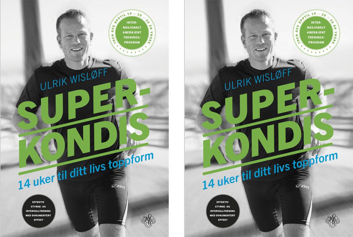Boka Superkondis er satt opp som et oversiktlig og ryddig treningsprogram som går over 14 uker.