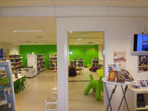 Barneavdeling Rælingen bibliotek