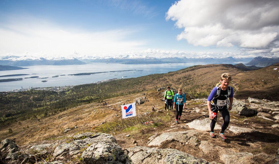Molde 7-toppers og NM terrengultra arrangeres i flott fjellterreng nord for Molde (arkivfoto: Magnus Roaldset Furset)