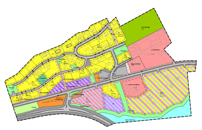 Laksvatn - Kartutsnitt - høringsutgave planendring