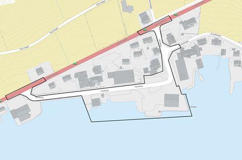Kart Hanahaug brannstasjon