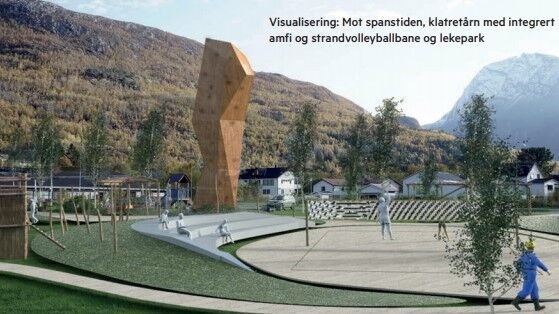 Visualisering av Elveparken