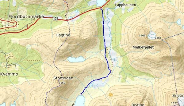 Kilde: Lavangen fjellvandrerlag