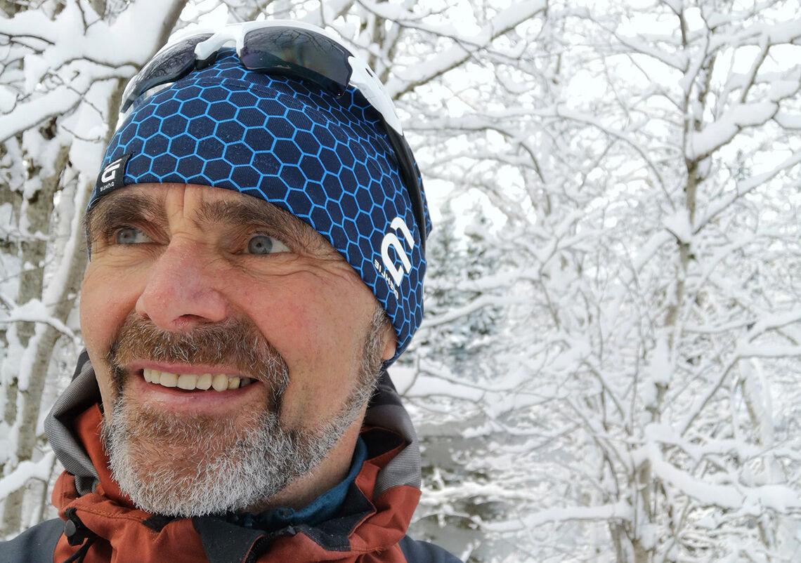 Bård Olav Moen har blikk for naturen og landskapet han beveger seg gjennom på løpeturene sine. (Foto: privat)