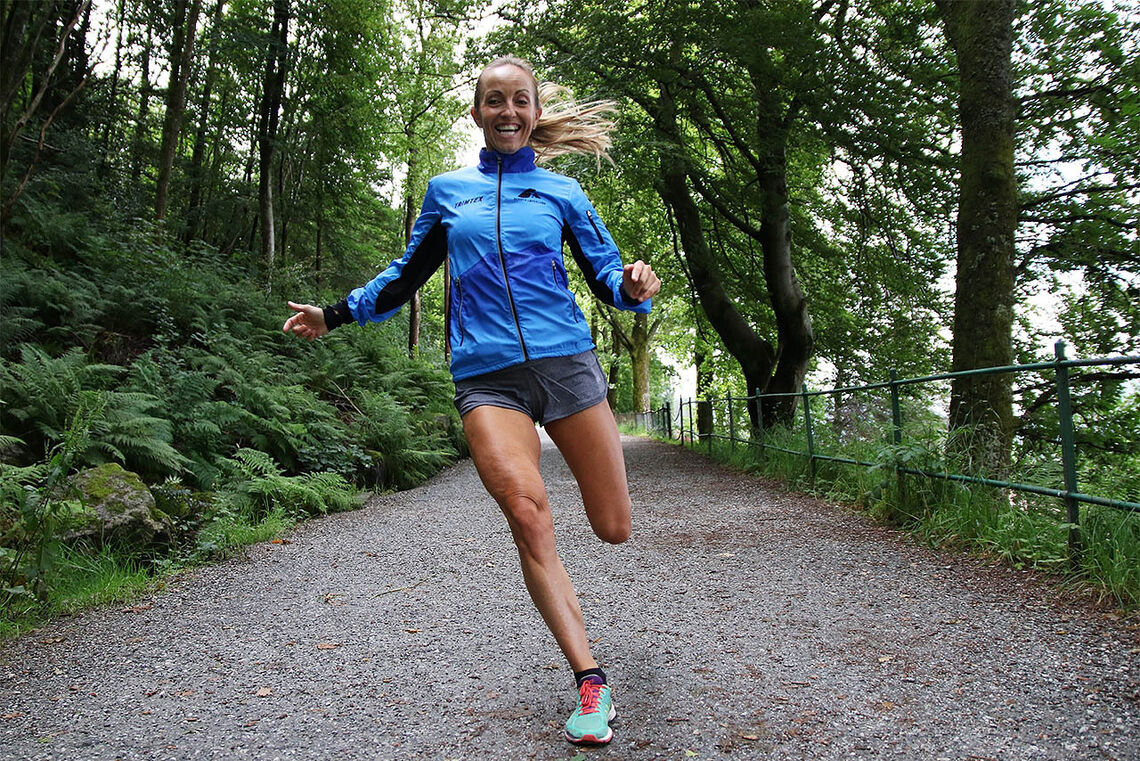 Anita Iversen Lilleskare liker å sette seg høye mål, men løpegleden ligger i bunn. (Foto: Marianne Røhme)