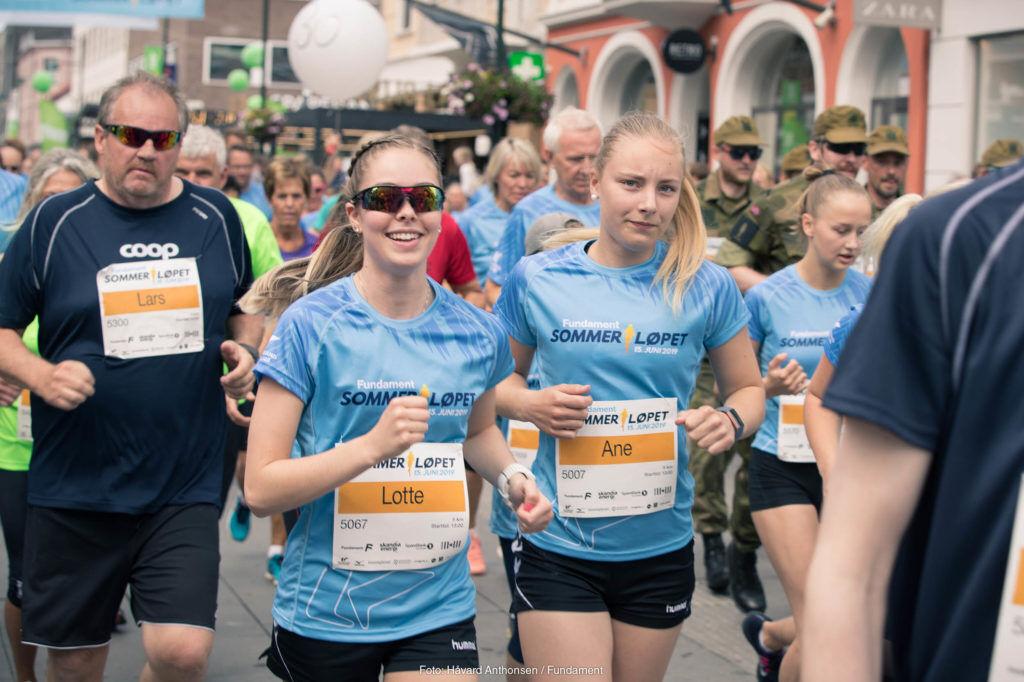 Kristiansand Løpeklubb hadde planlagt tre store arrangement i 2020, men kun Stadionmila lot seg gjennomføre. Både KrsUltra og Sommerløpet ble avlyst. (Foto fra Sommerløpet 2019: Håvard Anthonsen / Fundament)