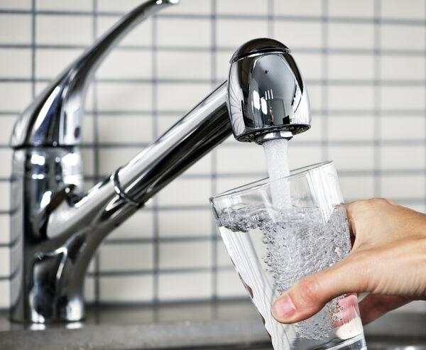 Bilde av vannglass