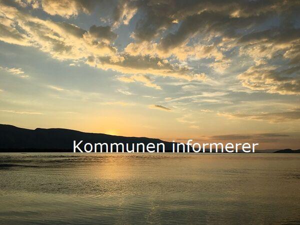 Porsanger kommune informerer - solnedgang