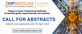 IHF call for abstracts