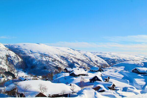 Vinterhytte - (Foto: Odd Helge Liestøl)
