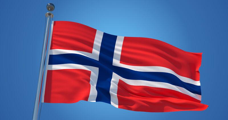 Det norske flagget. Foto: mostphotos.com