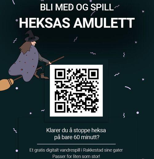 Heksas amulett i Rakkestad starter i påsken