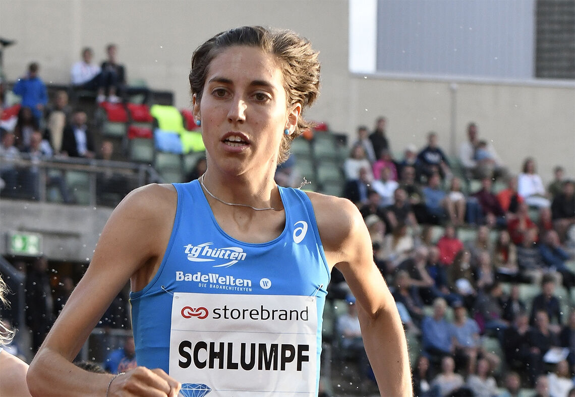 Fabienne Schlumpf har en lang banekarriere bak seg. Nå er hun blitt 29 år og satser for fullt på maraton. (Arkivfoto: Bjørn Johannessen)