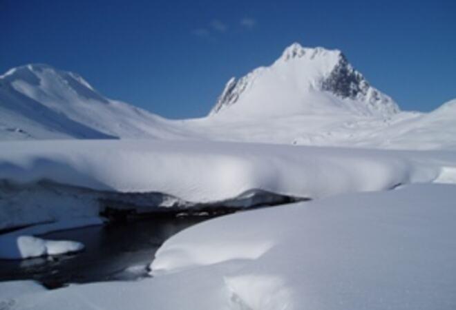Fjell og snø