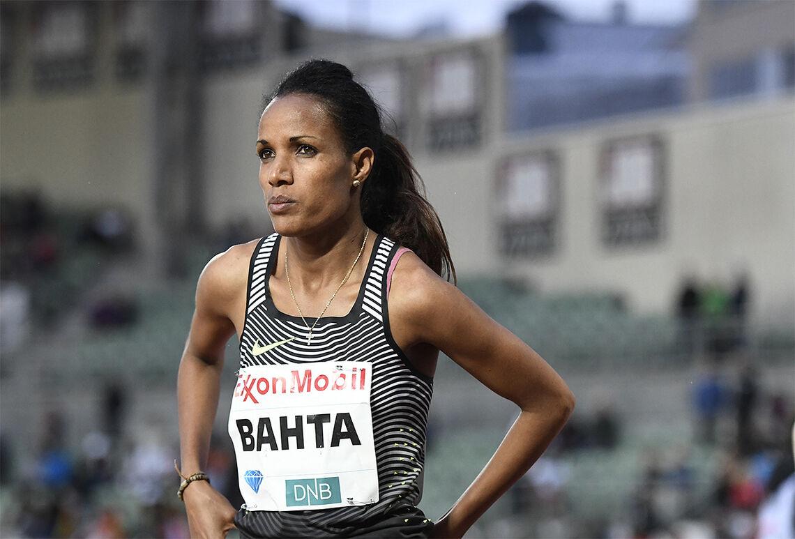Meraf Bahta forbedra sin egen svenske rekord med 5 sekunder - til 31.08,05. (Arkivfoto: Bjørn Johannessen)