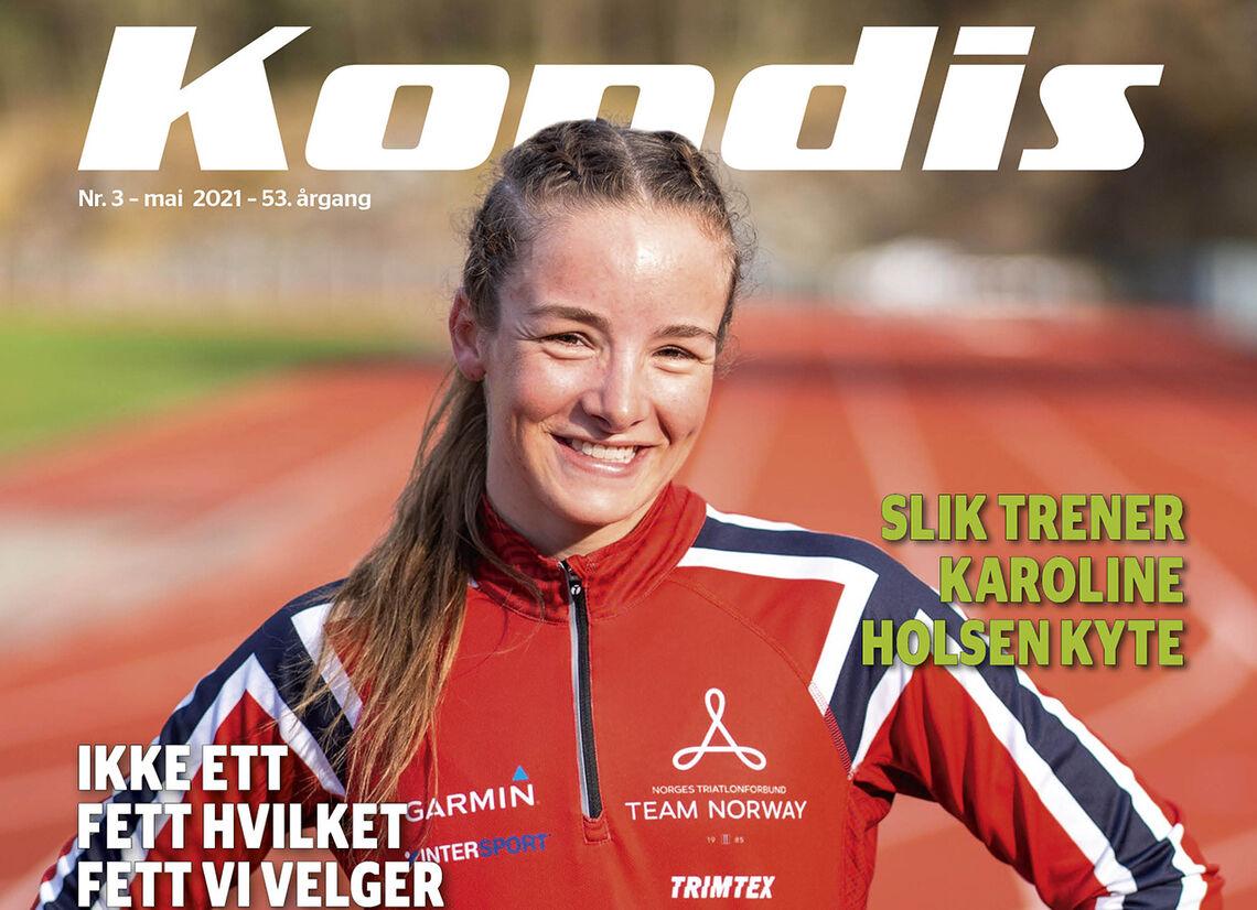 Triatlet Stine Dale har blikket retta mot OL i Tokyo. (Foto: Gustav Iden)