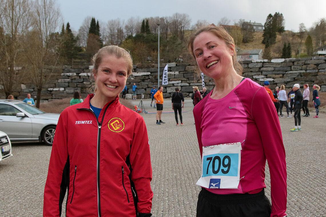Amalie Joensen og Anne-Mette Juuhl vant hver sin distanse, 5 og 10 km. (Alle foto: Arne Dag Myking)