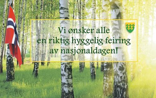 Gratulerer med nasjonaldagen hilsen Rakkestad kommune