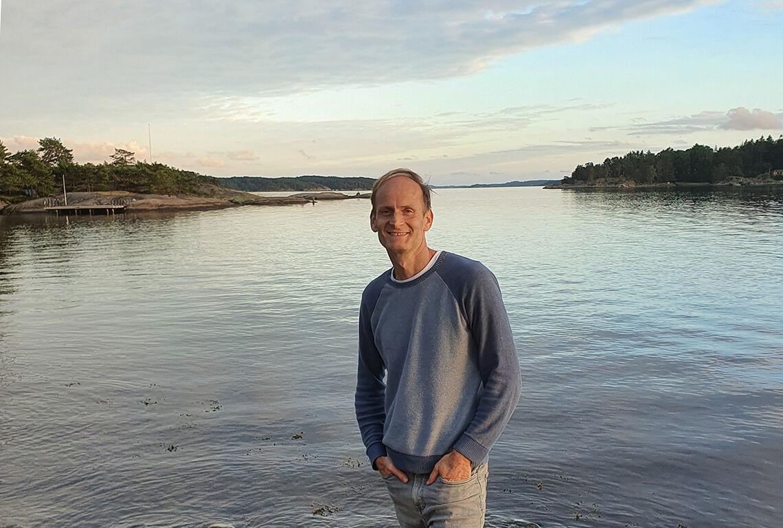 Terje Alsvik Walløe er glad i å komme seg ut i naturen. (Foto: privat)