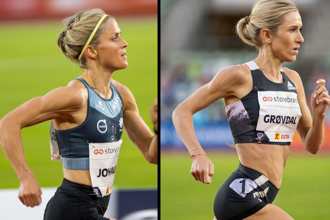 Lørdag 8. mars møtes Therese Johaug og Karoline Bjerkeli Grøvdal på Bislett. Får vi to løpere under OL-kravet? (Foto: Sylvain Cavatz)