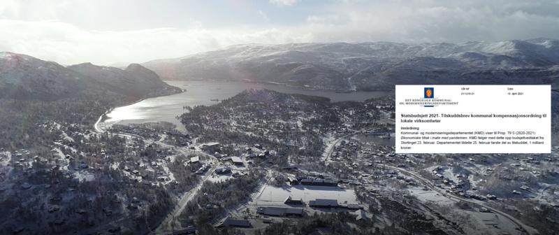 Hovden fra nord - kommunal kompensasjonsordning - Anders Martinsen