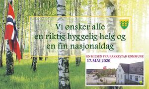 Vi ønsker en god helg og en fin nasjonaldagsfeiring - Rakkestad kommune