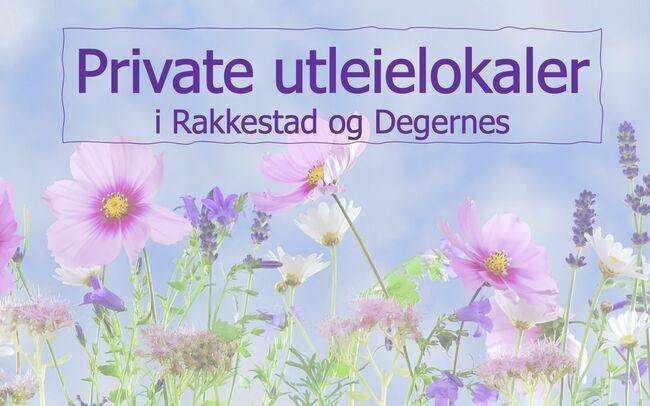 Utleie private lokaler i Rakkestad og Degernes