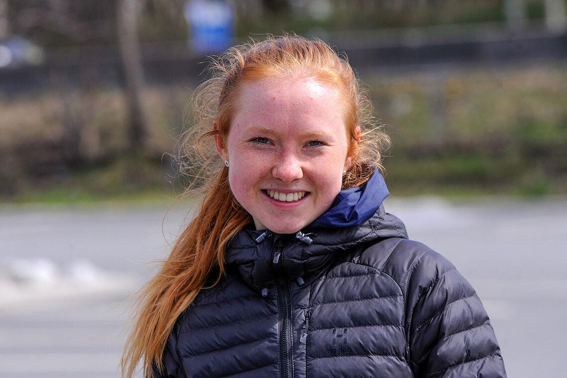 Adele Henriksen kan hvile seg etter å ha satt to rekorder på samme uken. (Alle foto: Arne Dag Myking)