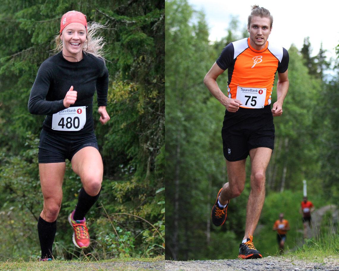Julie Aspesletten og Elmer Mulleri Skalle, som begge representerer LIF, ble beste kvinne- og herreløper i Strandtorgetløpet, slik de også ble i Maihaugenløpet. Bilder fra tidligere løp i Sørdalskarusellen.