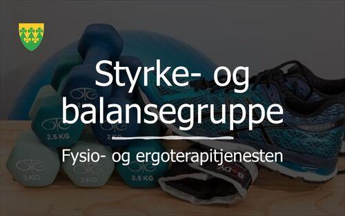 Styrke- og balansegruppe - Fysio-ergoterapitjenesten Rakkestad kommune