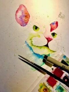 akvarellmaling