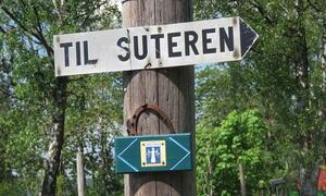 Ingaleden - veien til Suteren