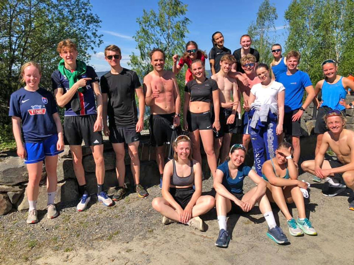 09 3 klasse idrettsfag ved Lillehammer vgs.jpg