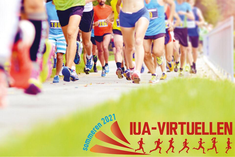 Idrett Uten Alkohol inviterer til IUA-virtuellens sommerkarusell. (Illustrasjon: Idrett Uten Alkohol)