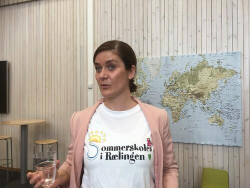 Prosjektleder sommerskolen Helena Bakjord