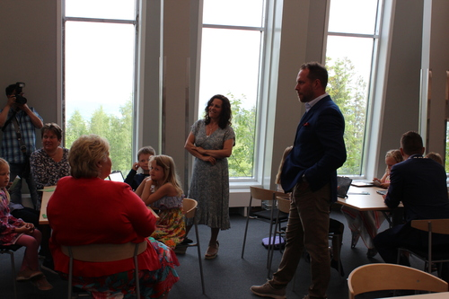 PPT-rådgiver og FAU- representant forteller om metode for læring
