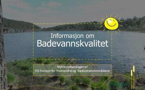 Badevannskvalitet - informasjon - Rakkestad kommune