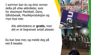 Velkommen til å bli med på Sommer i bøgda Rakkestad kommune
