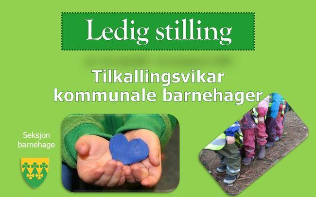 Tilkallingsvikar i kommunale barnehager - Rakkestad kommune