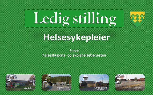 Ledig stilling helsesykepleier - Rakkestad kommune