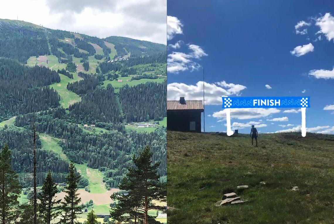 31. juli arrangeres første utgave av Kvitfjell Opp. Det krevende motbakkeløpet går opp utfortraseen som ble brukt i OL-94 og World Cup. (Alle foto: arrangøren)