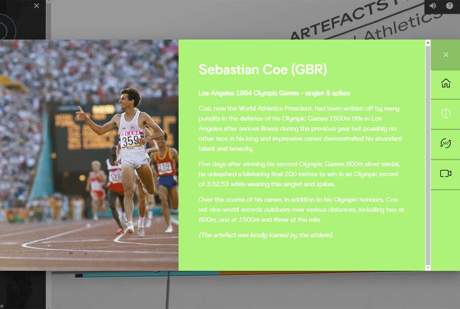 Dagens president i det internasjonale friidrettsforbundet, Sebastian Coe, var på 1980-tallet en av verdens beste mellomdistanseløpere. Høydepunktet var OL-gull på 1500 m i både 1980 og 1984.