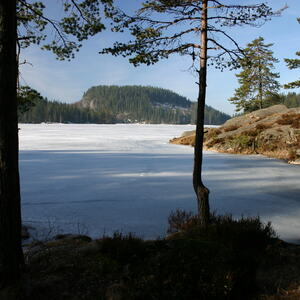 Utsikt over Ramstadsjøen