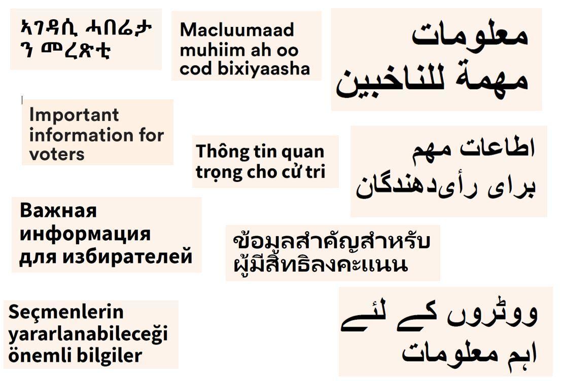 Illustrasjonsbilde - informasjon på flere språk.JPG